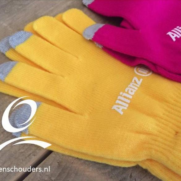 Smartphone handschoenen bedrukken